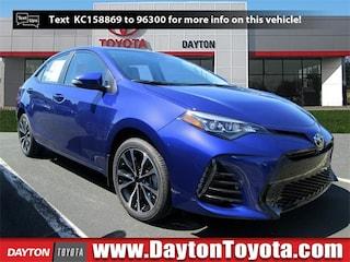 New Toyota vehicles 2019 Toyota Corolla SE Sedan X947 for sale near you in South Brunswick, NJ