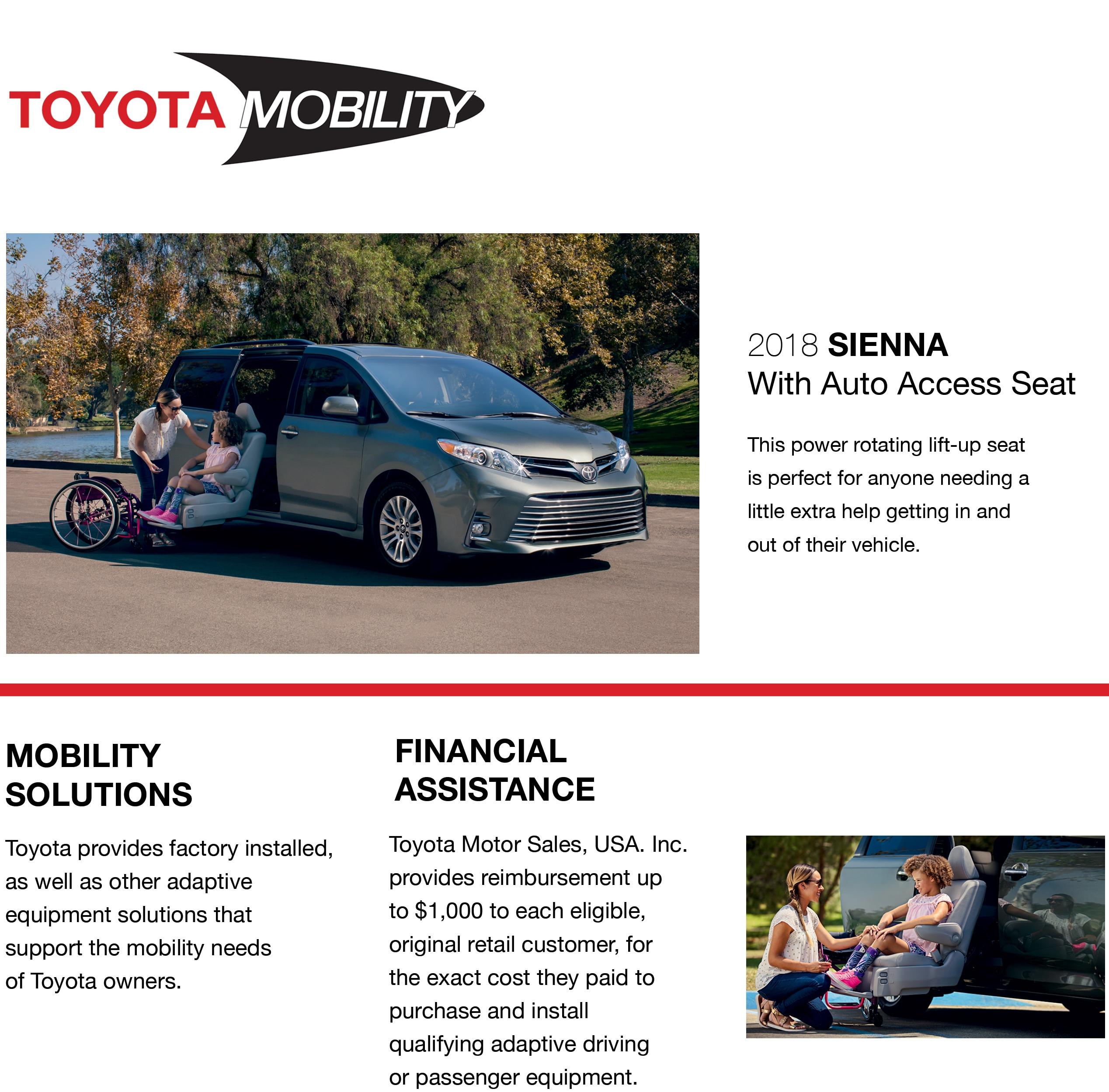 Toyota Mobility Toyota Handicap Vans in NJ