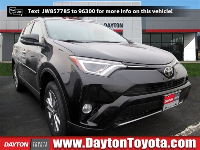 New Toyota vehicle 2018 Toyota RAV4 Limited SUV X81502 for sale near you in South Brunswick, NJ