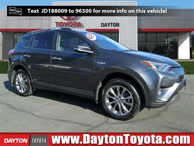 Certified Pre-Owned 2018 Toyota RAV4 Hybrid Limited SUV X9224A in South Brunswick, NJ