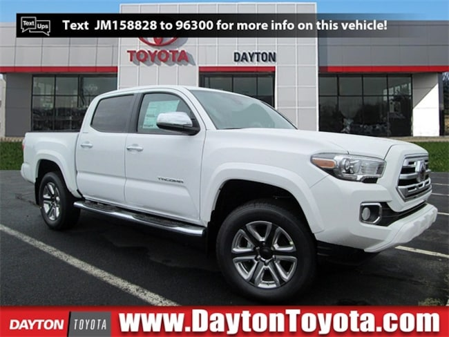 New Toyota vehicle 2018 Toyota Tacoma Limited V6 Truck Double Cab X8988 for sale near you in South Brunswick, NJ
