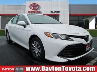 New Toyota vehicles 2019 Toyota Camry Hybrid LE Sedan X9662 for sale near you in South Brunswick, NJ