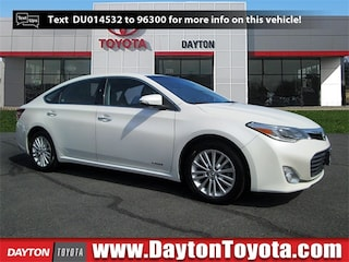 Discounted bargain used vehicles 2013 Toyota Avalon Hybrid Limited Sedan X9274A for sale near you in South Brunswick, NJ