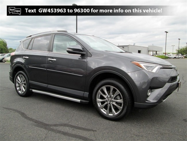 Certified Pre-Owned 2016 Toyota RAV4 Limited SUV B4184 in South Brunswick, NJ