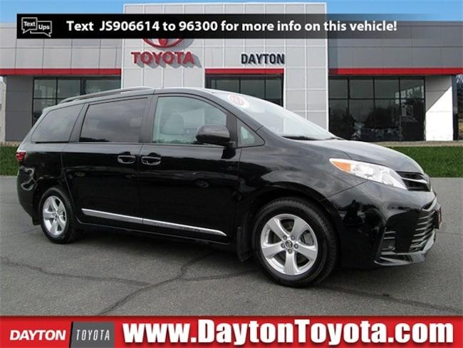 Used vehicle 2018 Toyota Sienna LE Minivan/Van X8421L for sale near you in South Brunswick, NJ