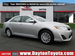Certified Pre-Owned Toyota vehicles 2013 Toyota Camry LE Sedan B4138 for sale near you in South Brunswick NJ