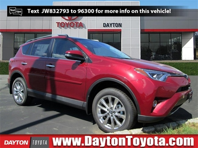New Toyota vehicle 2018 Toyota RAV4 Limited SUV X81390 for sale near you in South Brunswick, NJ