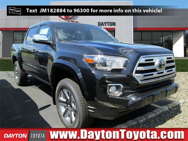 New Toyota vehicle 2018 Toyota Tacoma Limited V6 Truck Double Cab X81349 for sale near you in South Brunswick, NJ