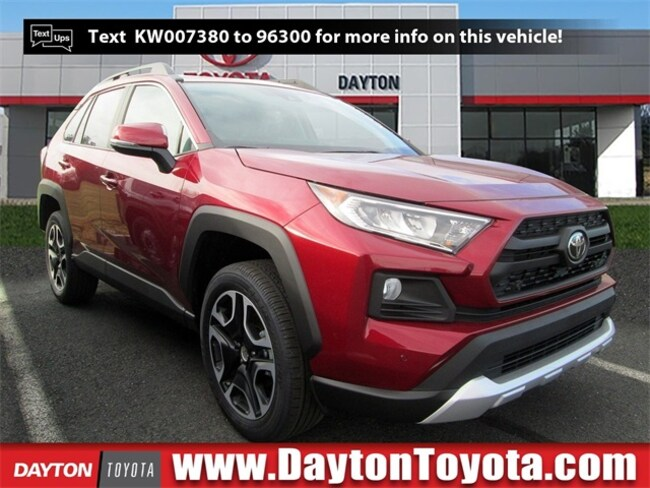 New Toyota vehicle 2019 Toyota RAV4 Adventure SUV X9333 for sale near you in South Brunswick, NJ