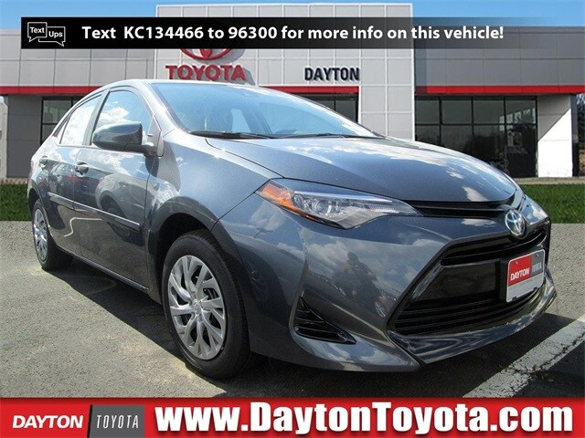 Featured new Toyota vehicles 2019 Toyota Corolla LE Sedan X911 for sale near you in South Brunswick, NJ