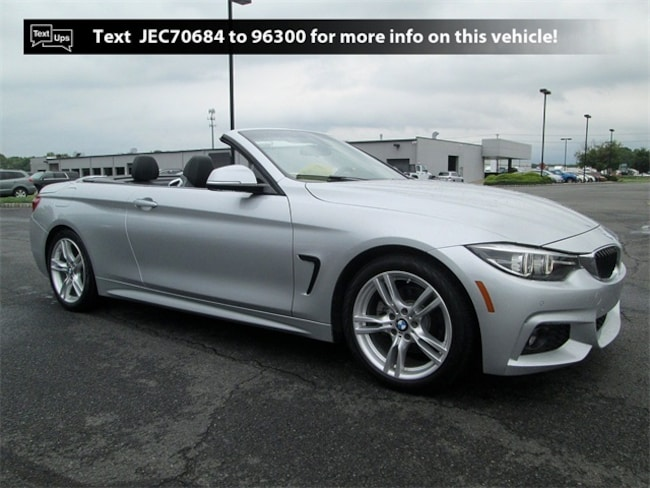 Used vehicle 2018 BMW 4 Series 430i Convertible B4190 for sale near you in South Brunswick, NJ