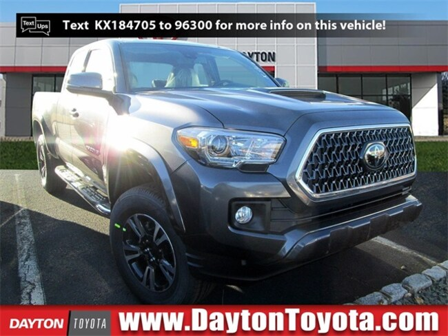 New Toyota vehicle 2019 Toyota Tacoma TRD Sport V6 Truck Access Cab X9467 for sale near you in South Brunswick, NJ