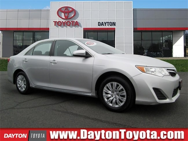 Certified Pre-Owned 2013 Toyota Camry LE Sedan B4138 in South Brunswick, NJ