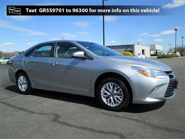 Certified Pre-Owned 2016 Toyota Camry LE Sedan B4136 in South Brunswick, NJ
