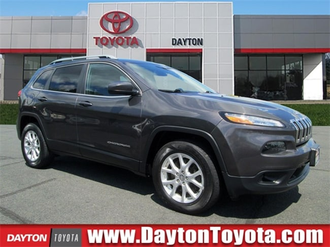 Used vehicle 2015 Jeep Cherokee Latitude SUV X9382A for sale near you in South Brunswick, NJ