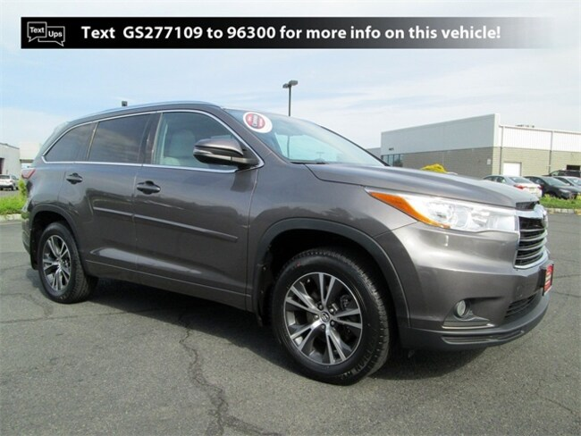 Certified Pre-Owned 2016 Toyota Highlander XLE V6 SUV B4175 in South Brunswick, NJ