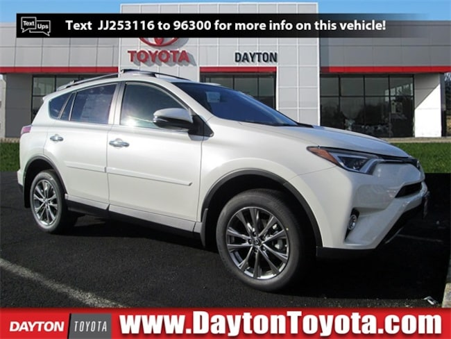 New Toyota vehicle 2018 Toyota RAV4 Limited SUV X81465 for sale near you in South Brunswick, NJ