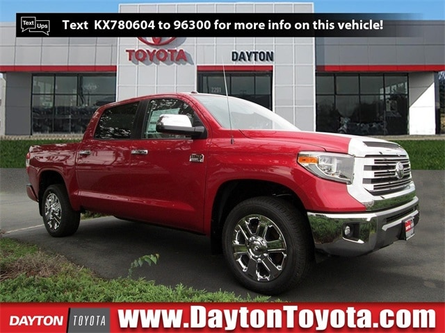 Featured new Toyota vehicles 2019 Toyota Tundra 1794 5.7L V8 Truck CrewMax X968 for sale near you in South Brunswick, NJ