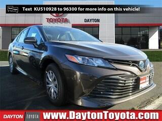 New Toyota vehicles 2019 Toyota Camry Hybrid LE Sedan X9370 for sale near you in South Brunswick, NJ