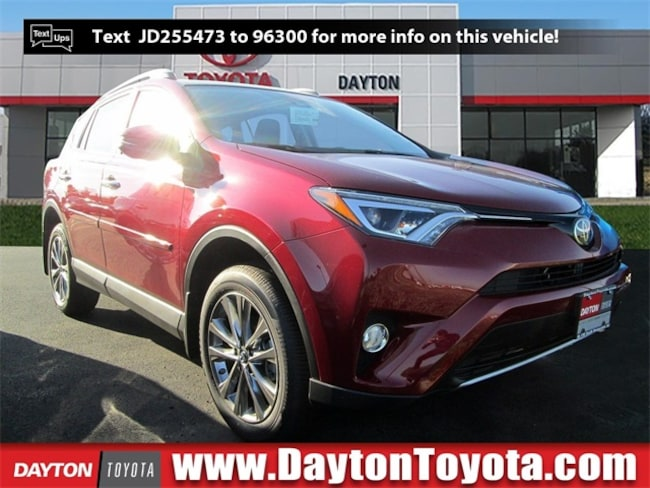New Toyota vehicle 2018 Toyota RAV4 Limited SUV X81456 for sale near you in South Brunswick, NJ