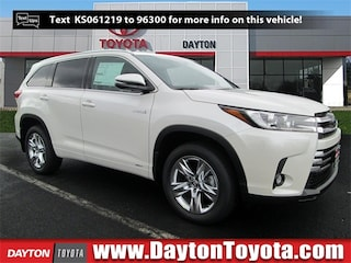 New Toyota vehicles 2019 Toyota Highlander Hybrid Limited V6 SUV X9466 for sale near you in South Brunswick, NJ
