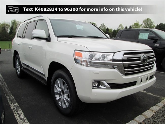 New Toyota vehicle 2019 Toyota Land Cruiser V8 SUV X9722 for sale near you in South Brunswick, NJ