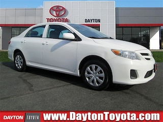 Certified Pre-Owned Toyota vehicles 2013 Toyota Corolla LE Sedan B4165 for sale near you in South Brunswick NJ