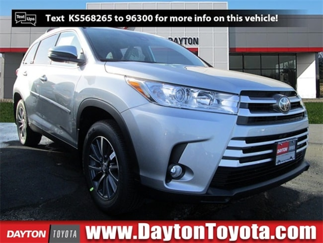 New Toyota vehicle 2019 Toyota Highlander XLE V6 SUV X9179 for sale near you in South Brunswick, NJ