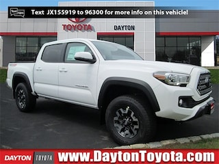 New Toyota vehicles 2018 Toyota Tacoma TRD Off Road V6 Truck Double Cab X81126 for sale near you in South Brunswick, NJ
