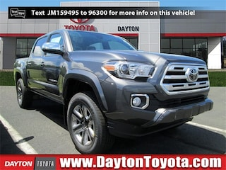 New Toyota vehicles 2018 Toyota Tacoma Limited V6 Truck Double Cab X8999 for sale near you in South Brunswick, NJ