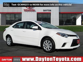 Certified Pre-Owned Toyota vehicles 2016 Toyota Corolla LE Sedan B4033 for sale near you in South Brunswick NJ