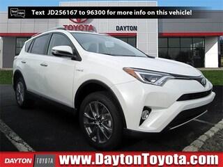 New Toyota vehicles 2018 Toyota RAV4 Hybrid Limited SUV X81500 for sale near you in South Brunswick, NJ