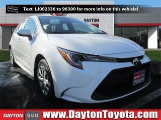 New Toyota vehicles 2020 Toyota Corolla LE Sedan X02 for sale near you in South Brunswick, NJ