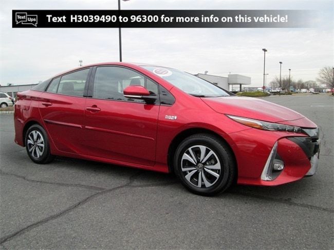 Certified Pre-Owned 2017 Toyota Prius Prime Advanced Hatchback X71379L in South Brunswick, NJ