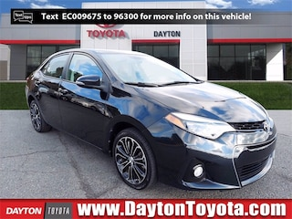 Certified Pre-Owned Toyota vehicles 2014 Toyota Corolla S Plus Sedan X1237A for sale near you in South Brunswick NJ