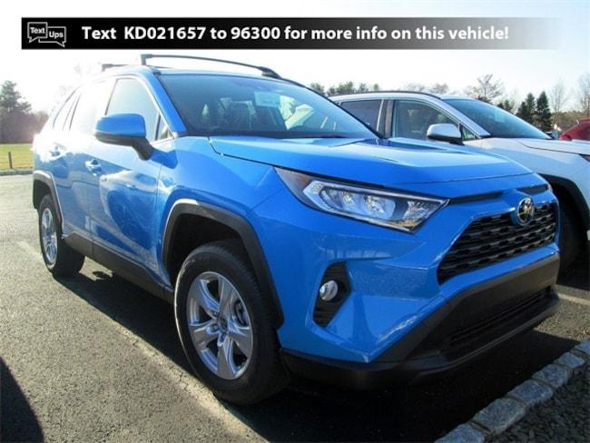 New Toyota vehicle 2019 Toyota RAV4 XLE SUV X9621 for sale near you in South Brunswick, NJ