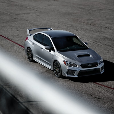 Subaru WRX Performance Themed Design