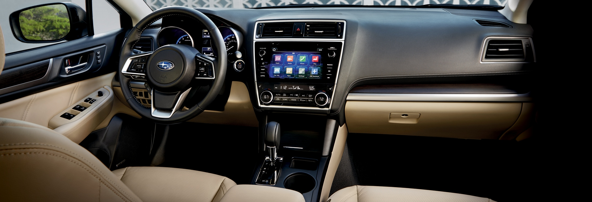 Subaru Legacy Interior Vehicle Features