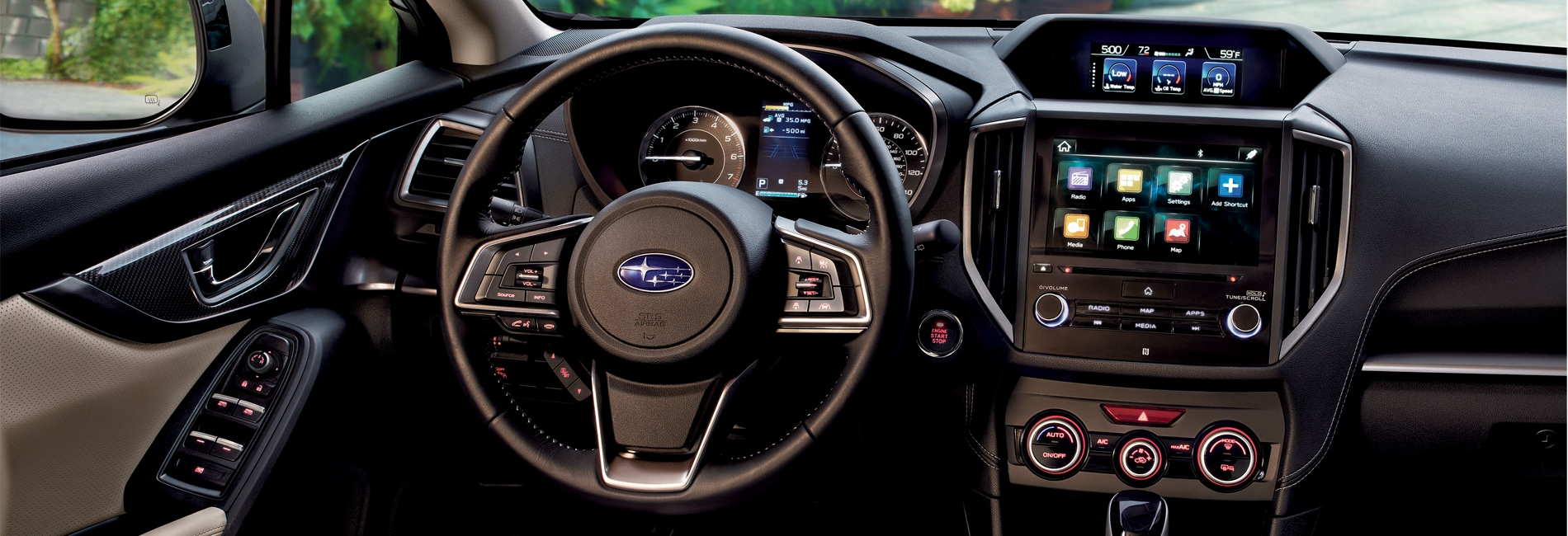 Subaru Impreza Interior Vehicle Features