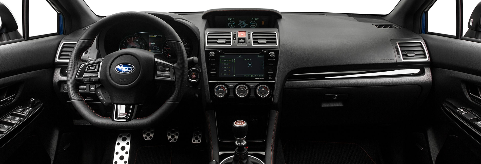 Subaru WRX Interior Vehicle Features