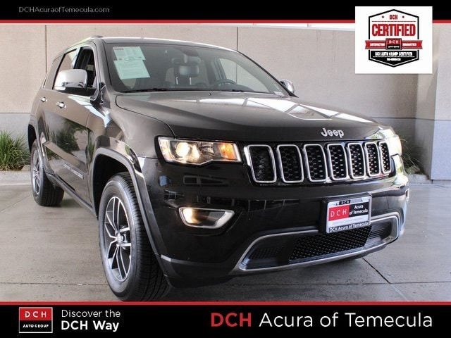 Used 2017 Jeep Grand Cherokee Limited For Sale Atp5522 Temecula