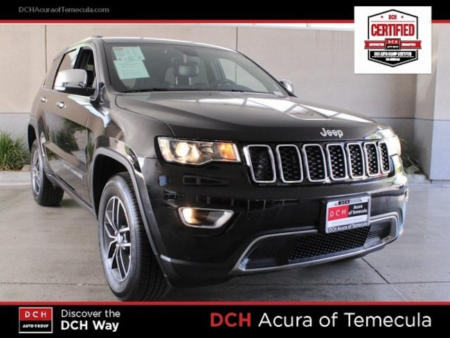 Used 2017 Jeep Grand Cherokee Limited SUV Temecula, CA
