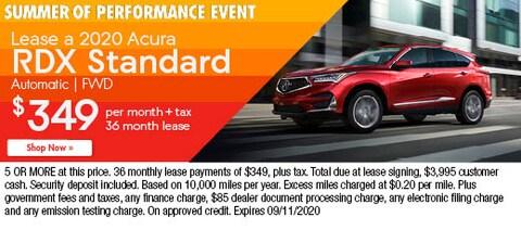 Lease a 2020 Acura RDX Standard