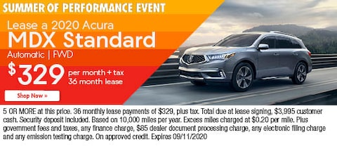 Lease a 2020 Acura MDX Standard