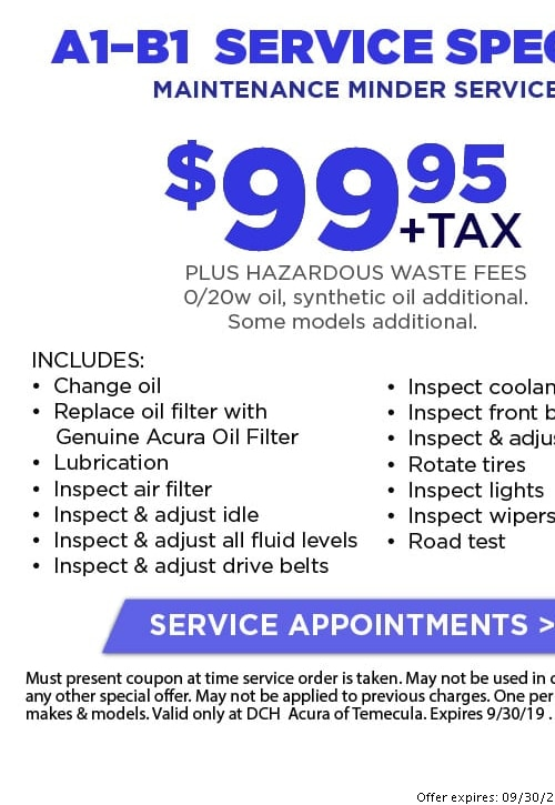 picture about Ford Service Coupons Printable named Acura Services Discount codes Price savings within just Temecula Oil Improvements