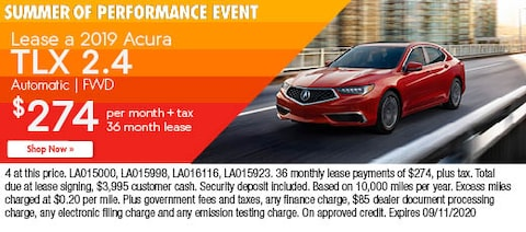 Lease a 2019 Acura TLX 2.4