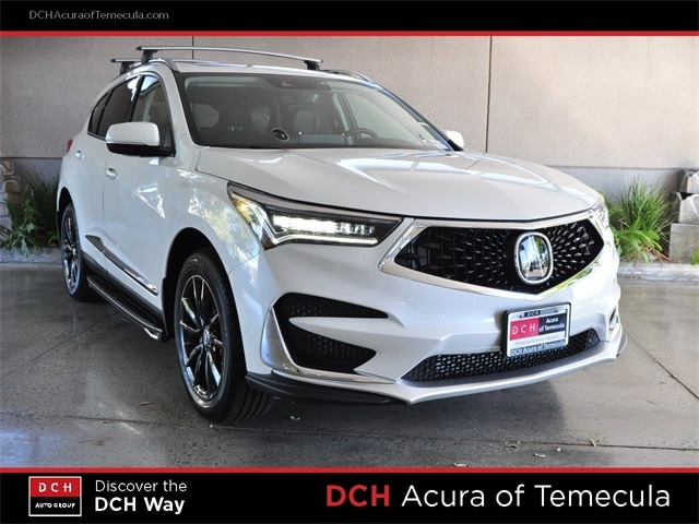 2019 Acura Rdx With Technology Package Suv White Diamond Pearl For