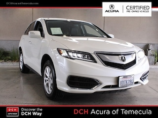 Certified Pre-Owned 2018 Acura RDX Base SUV Temecula, CA