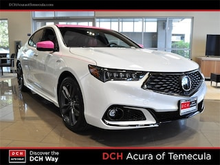 New 2019 Acura TLX 3.5 V-6 9-AT P-AWS with A-SPEC RED Sedan Temecula, CA