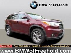 Used Vehicles 2014 Toyota Highlander XLE V6 SUV for sale in Freehold, NJ
